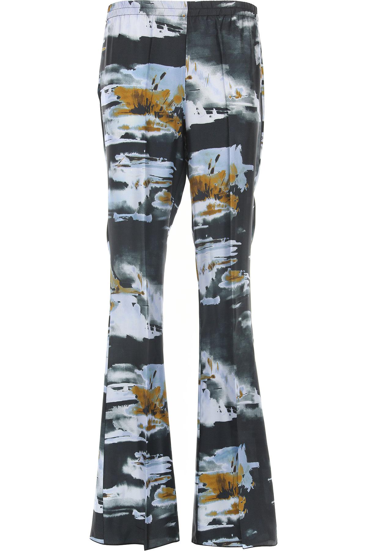 Image of Jucca Pants for Women, Black, viscosa, 2017, 26 28