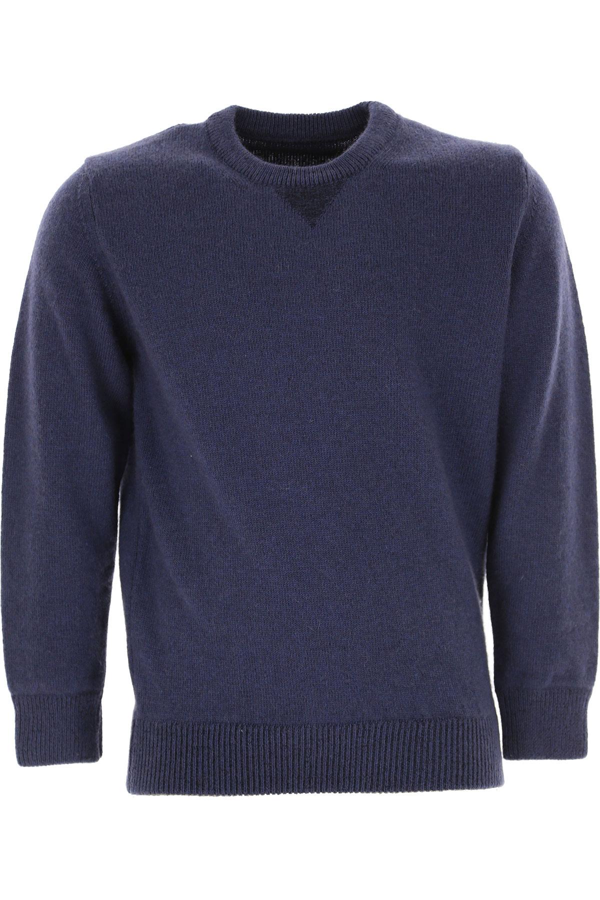Jurta Kids Sweaters for Boys On Sale, Blue Navy, Cashemere, 2019, 6Y 8Y