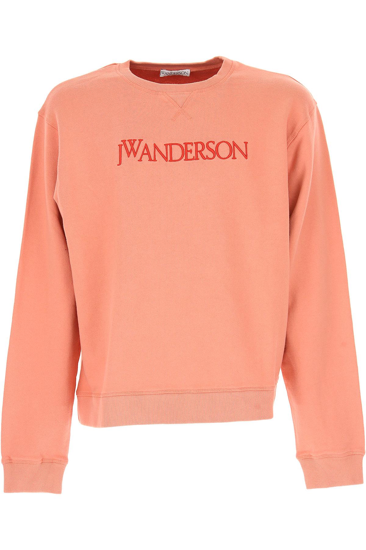 Image of J.W.Anderson Sweatshirt for Men, Watermelon, Cotton, 2017, 1 - Uk/Usa S - Ita 46 2 - Uk/Usa M - Ita 48 3 - Uk/Usa L - Ita 50 4 - Uk/Usa XL - Ita 52