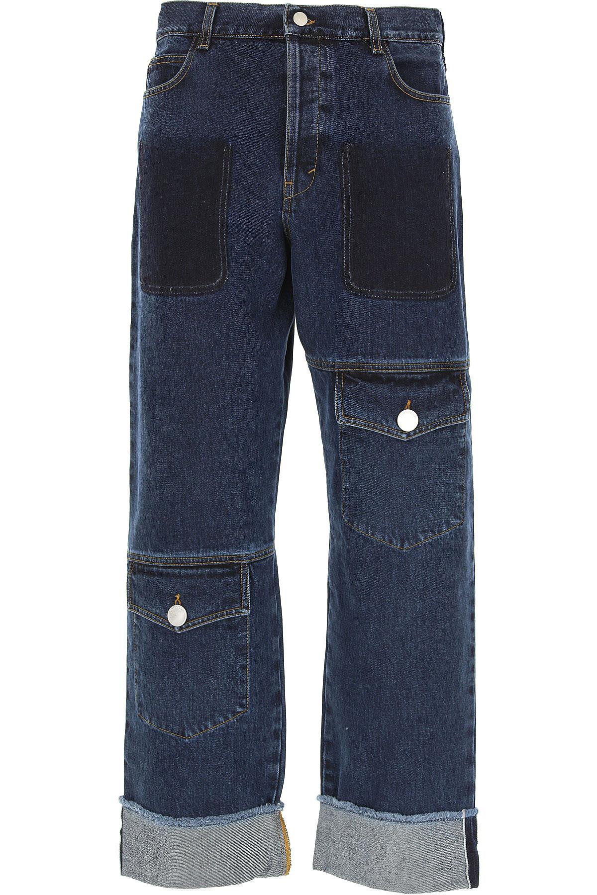 Image of J.W.Anderson Jeans, Denim, Cotton, 2017, 32 34