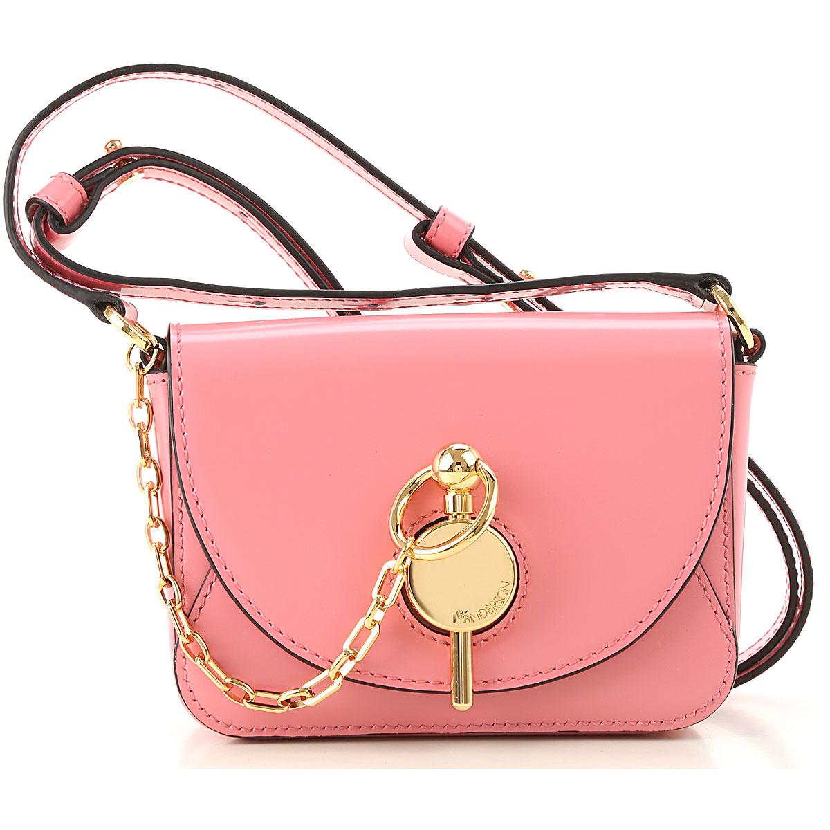 JW Anderson Shoulder Bag for Women, Pink, Leather, 2019