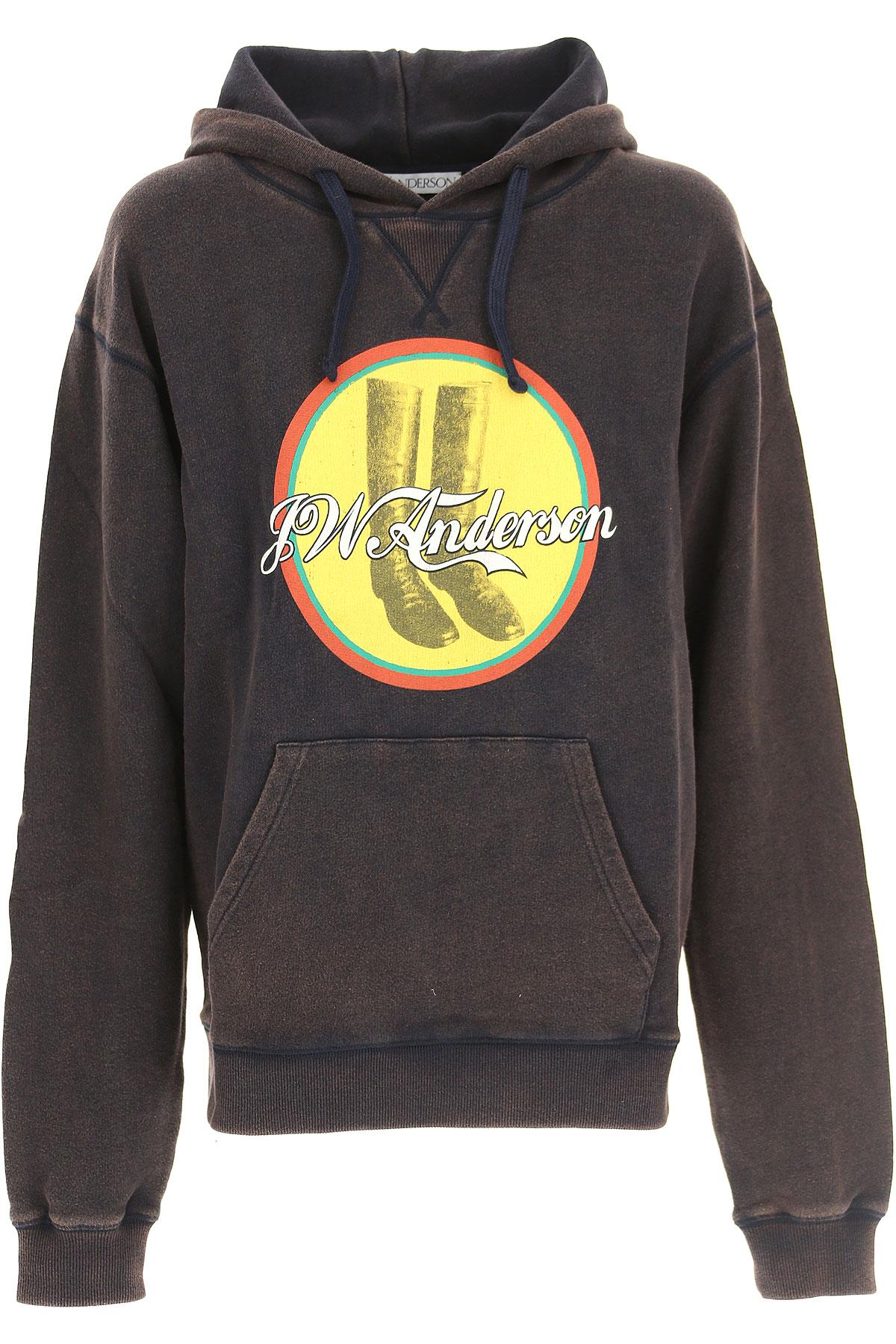 Image of J.W.Anderson Sweatshirt for Women, Ebony, Cotton, 2017, 2 4 6 8