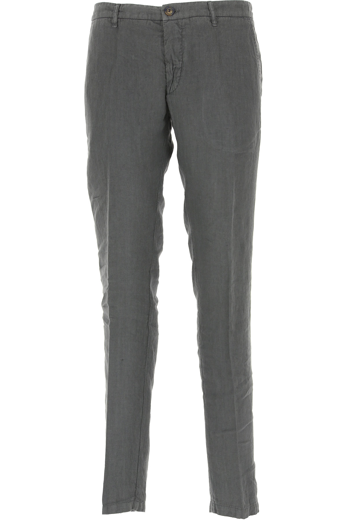 J.W. Brine Pants for Men, Asphalt Grey, linen, 2019, 30 32 34 38 40