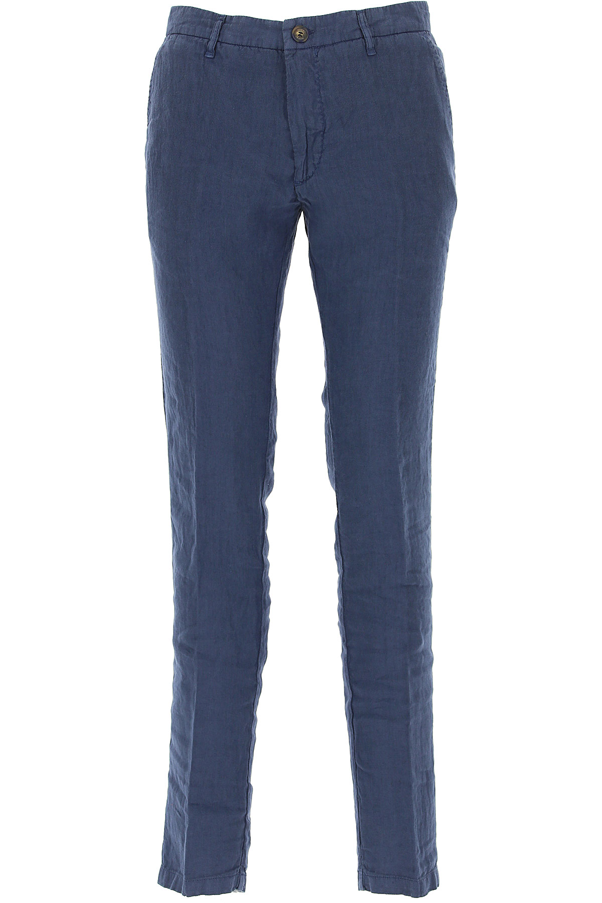 J.W. Brine Pants for Men On Sale in Outlet, Blue, linen, 2019, 30 32 34 38