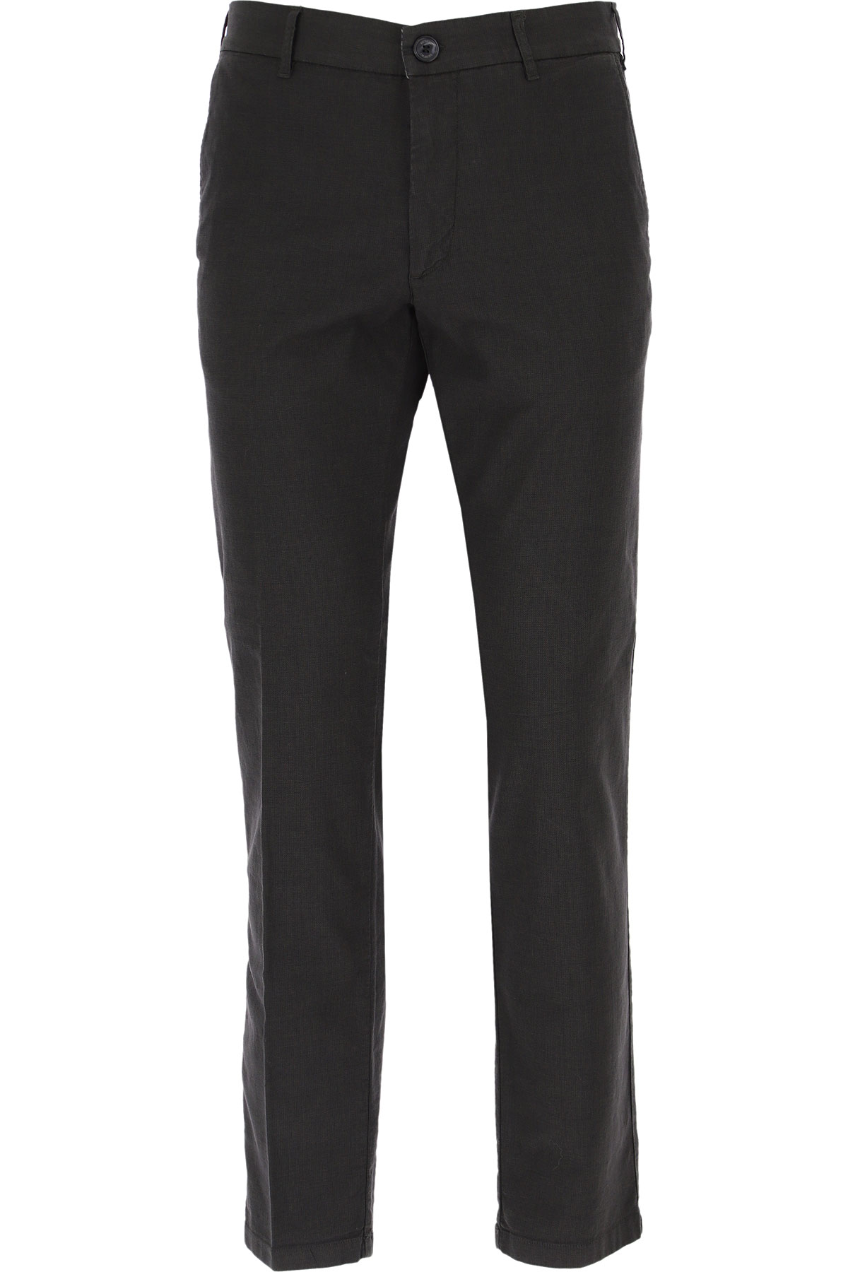 J.W. Brine Pants for Men On Sale, antracite, Cotton, 2019, 32 34 36 38