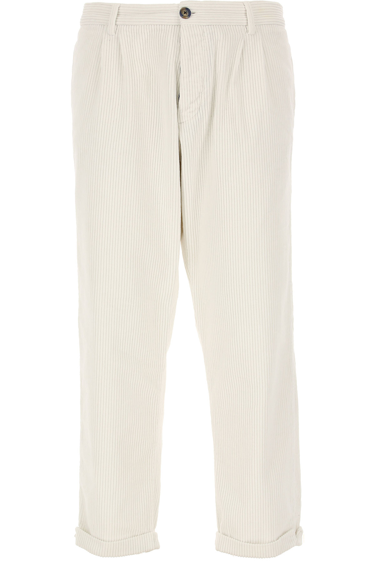 J.W. Brine Pants for Men On Sale in Outlet, White, Cotton, 2019, 36 38