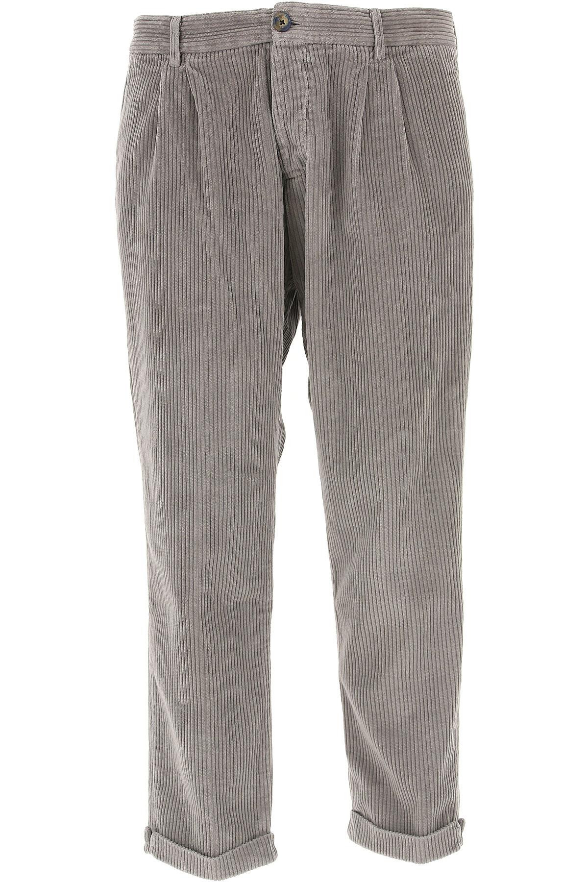 Image of J.W. Brine Pants for Men, Ash, Cotton, 2017, 30 32 34 36 38