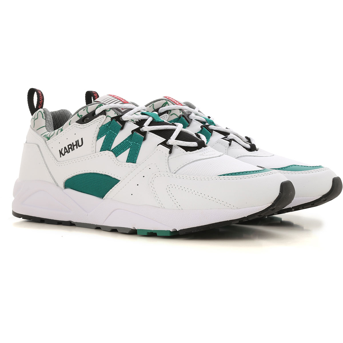 Image of Karhu Sneakers for Men, White, Leather, 2017, US 7.5 - UK 6.5 - EU 40 US 8.5 - UK 7.5 - EU 42 US 10 - UK 9 - EU 44 US 11 - UK 10 - EU 45