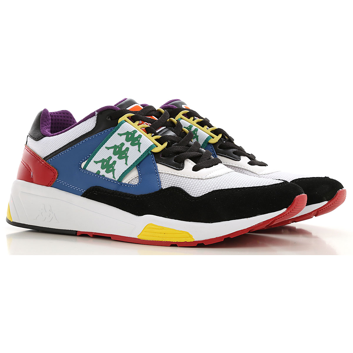 Kappa Sneakers for Men On Sale, Multicolor, Fabric, 2019, 10 7.5 8 9