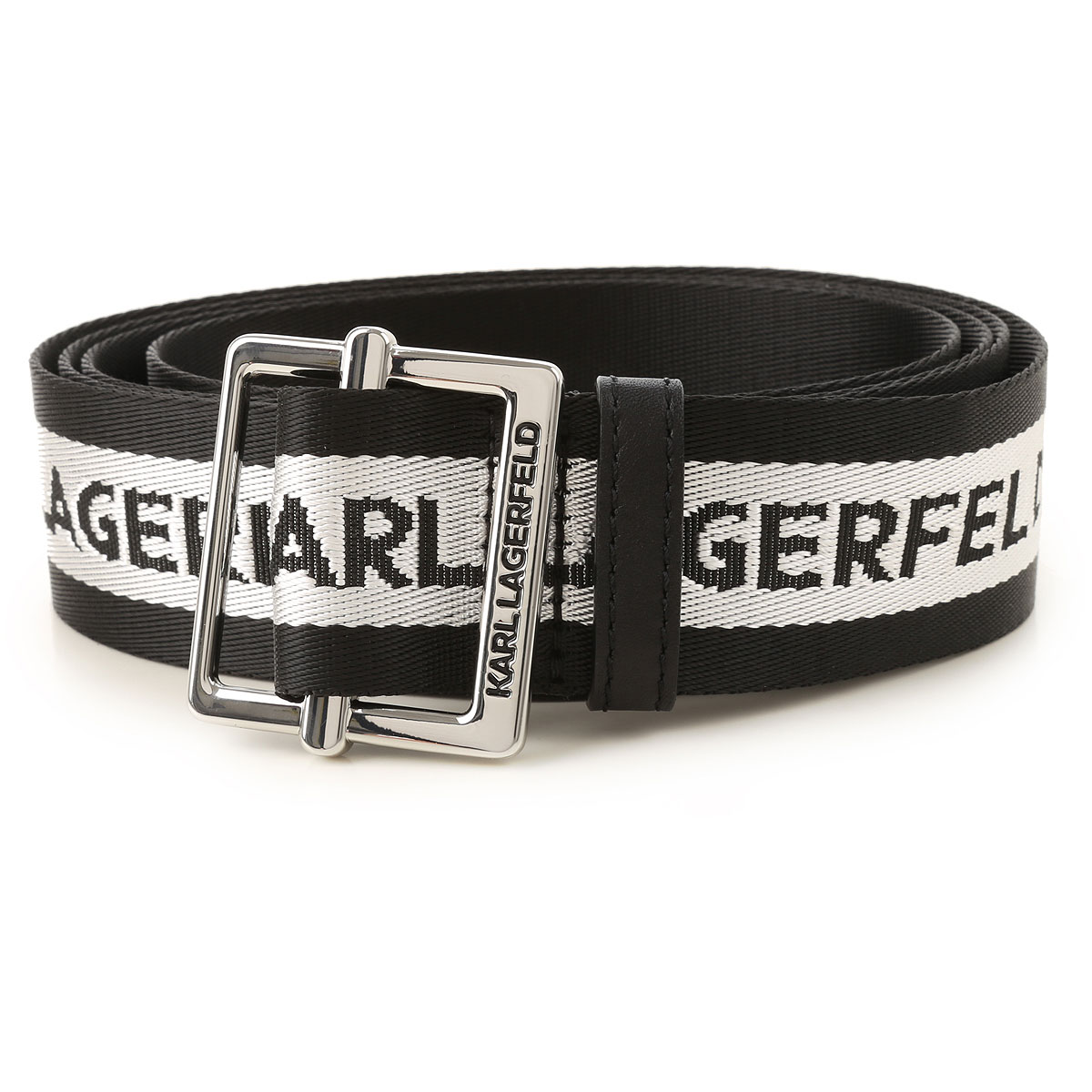 Karl Lagerfeld Belt for Women On Sale, Black, polyamide, 2019, Universal size