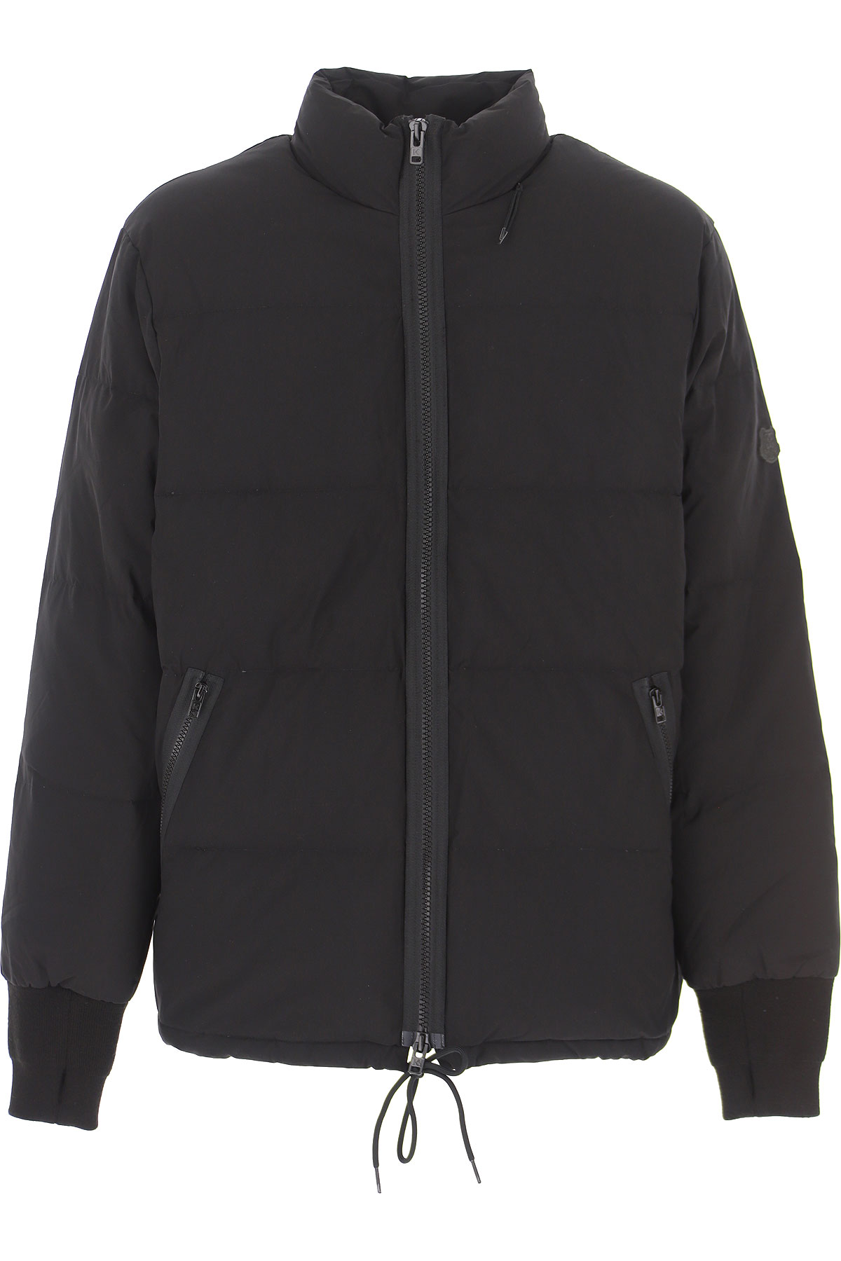 Kenzo Down Jacket for Men, Puffer Ski Jacket On Sale, Black, polyester, 2019, L M S