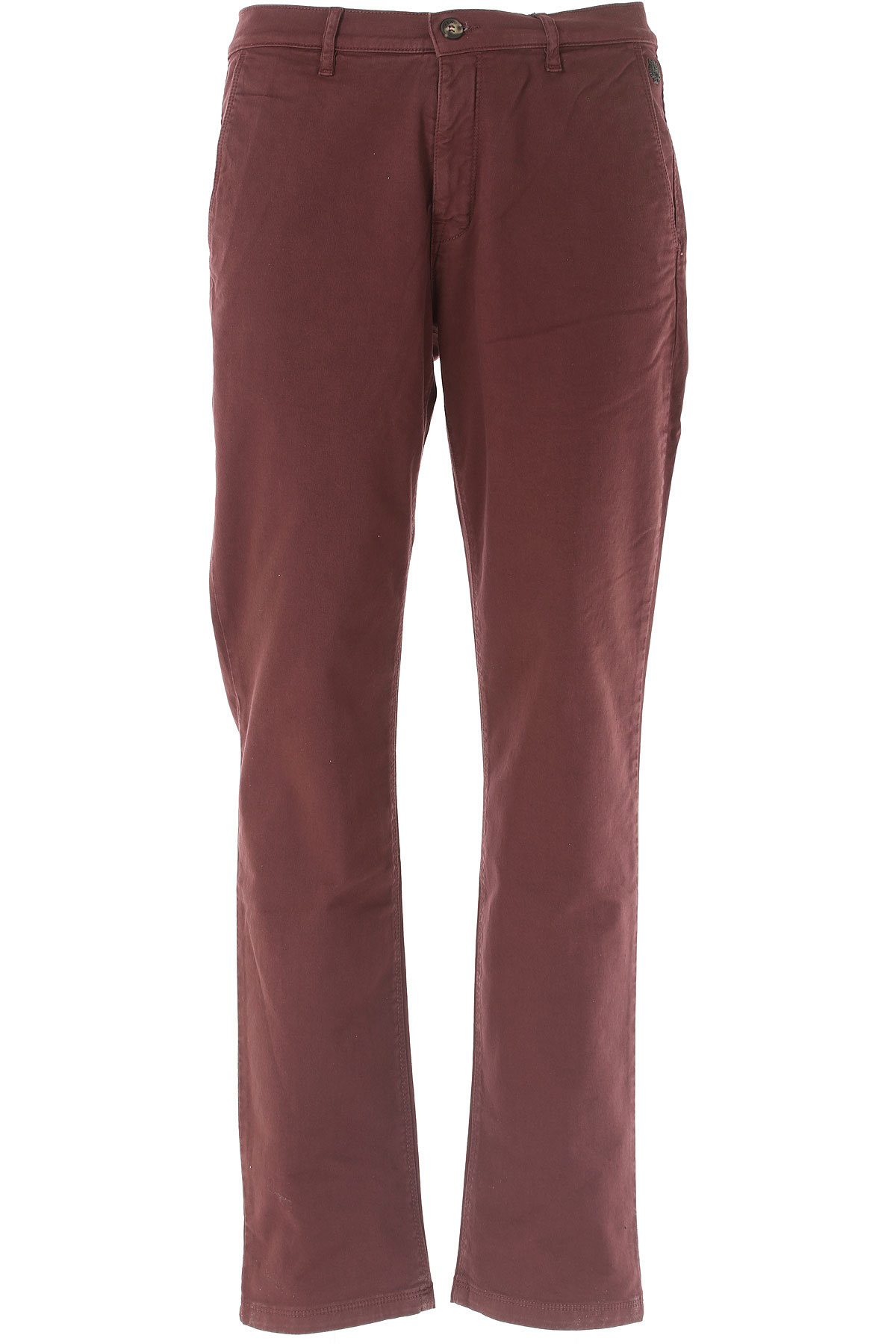 Kenzo Pants for Men On Sale, Bordeaux, Cotton, 2017, 32 34 36