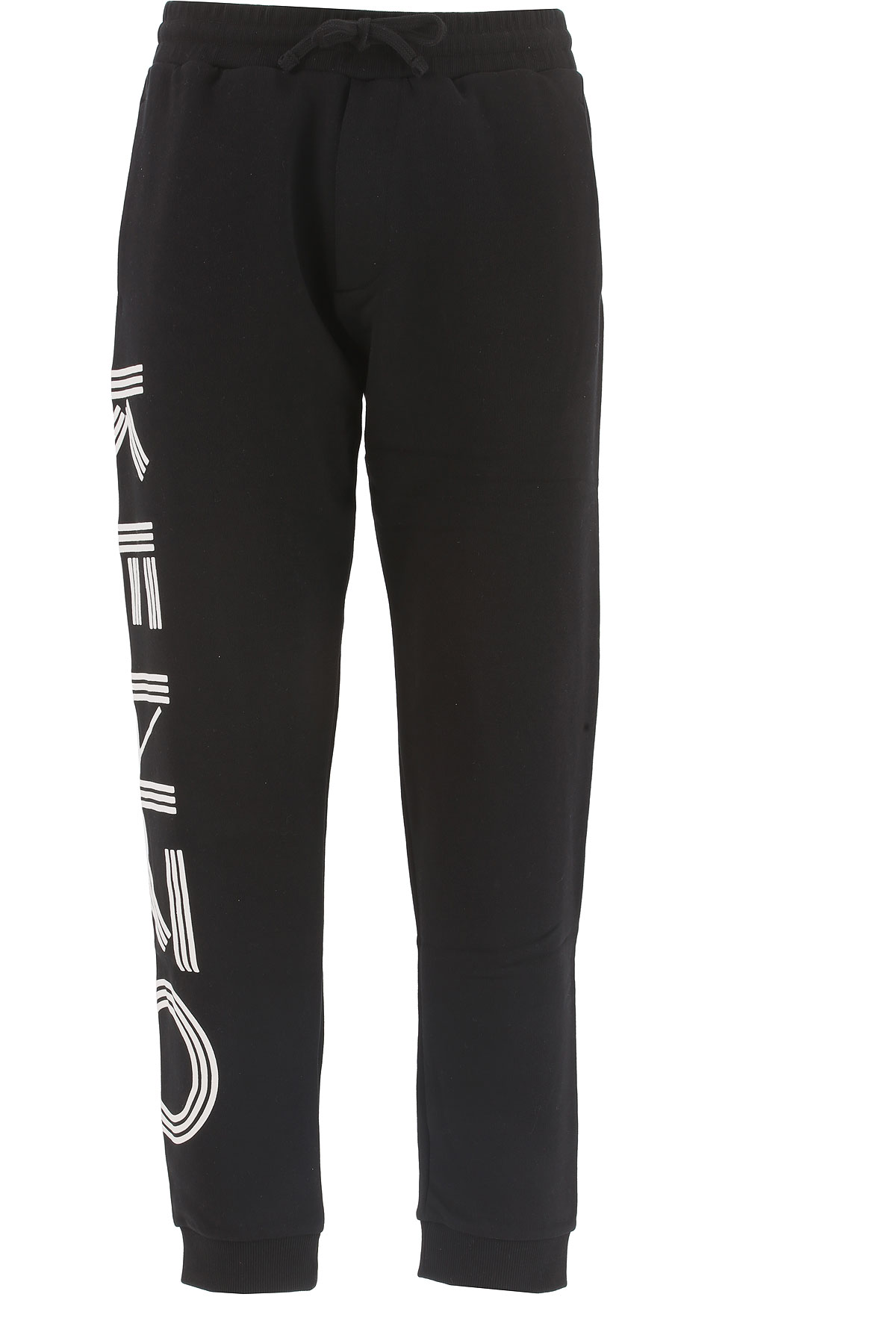 Kenzo Pants for Men On Sale, Black, Cotton, 2017, 30 L XL