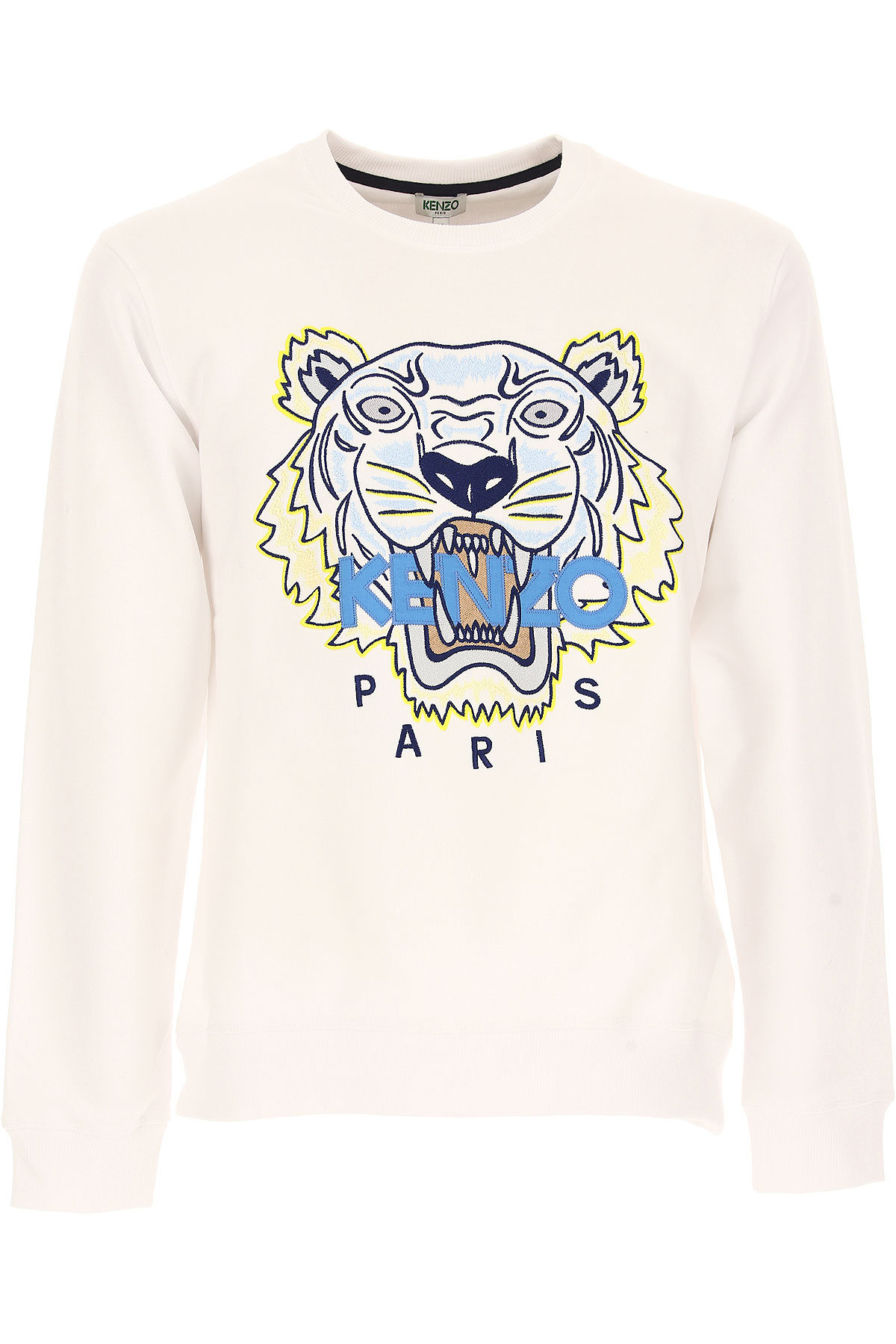 Kenzo Sweatshirt for Men, White, Cotton, 2017, L S XL XXL USA-438432