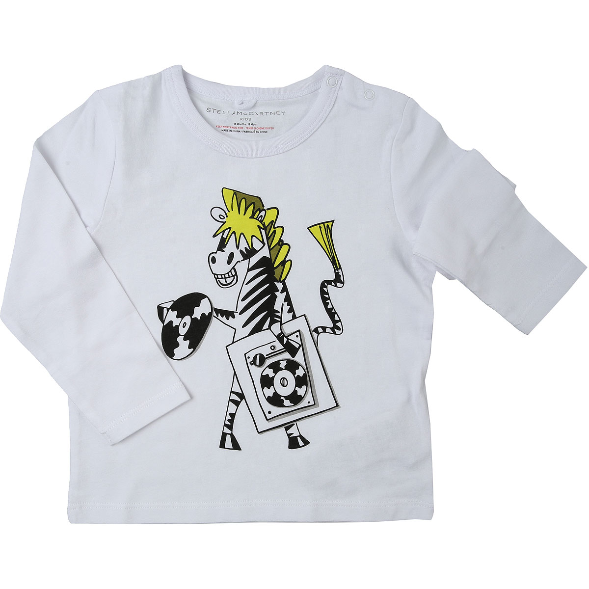 Kenzo Baby T-Shirt for Boys On Sale, White, Cotton, 2019, 6M 9M