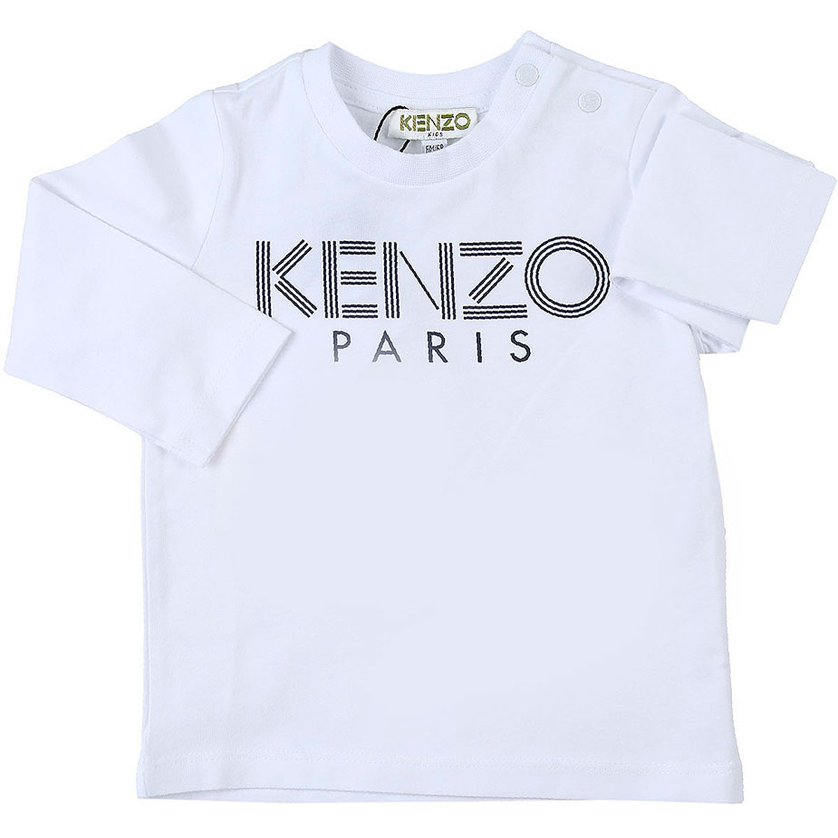 Kenzo Baby T-Shirt for Boys On Sale, White, Cotton, 2019, 12 M 18M 2Y 3Y 6M 9 M 9M