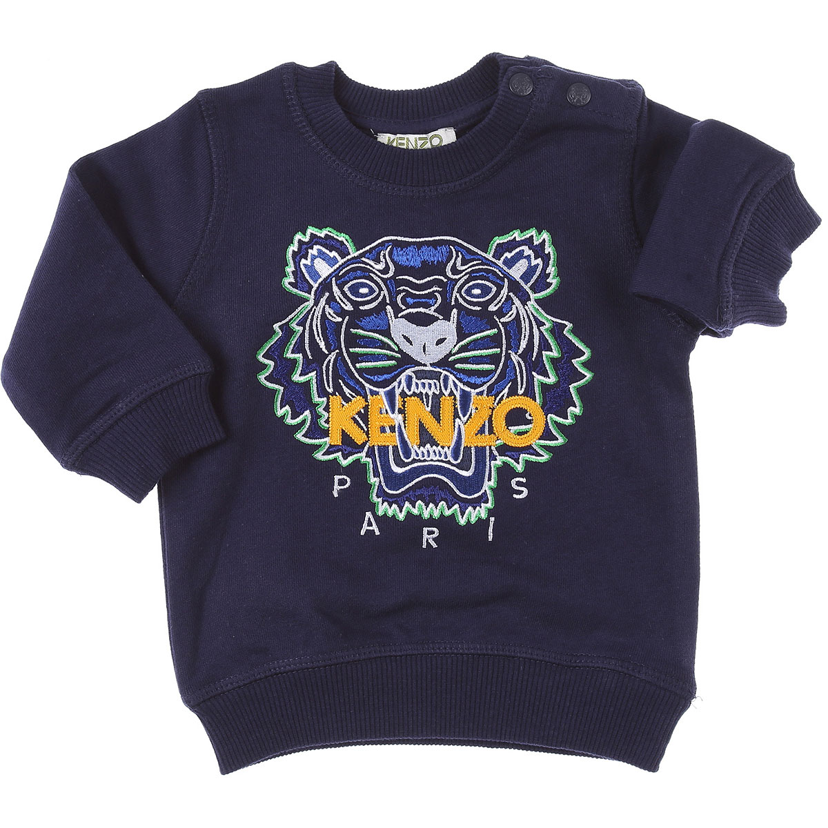 Kenzo Baby Sweatshirts & Hoodies for Boys On Sale, navy, Cotton, 2019, 18M 6M 9M
