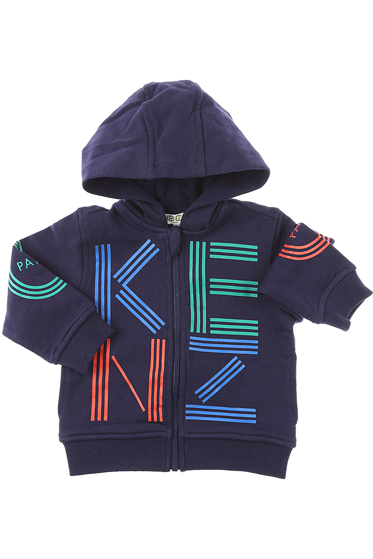 Kenzo Baby Sweatshirts & Hoodies for Boys On Sale, navy, Cotton, 2019, 12 M 18M 2Y 3Y 9M