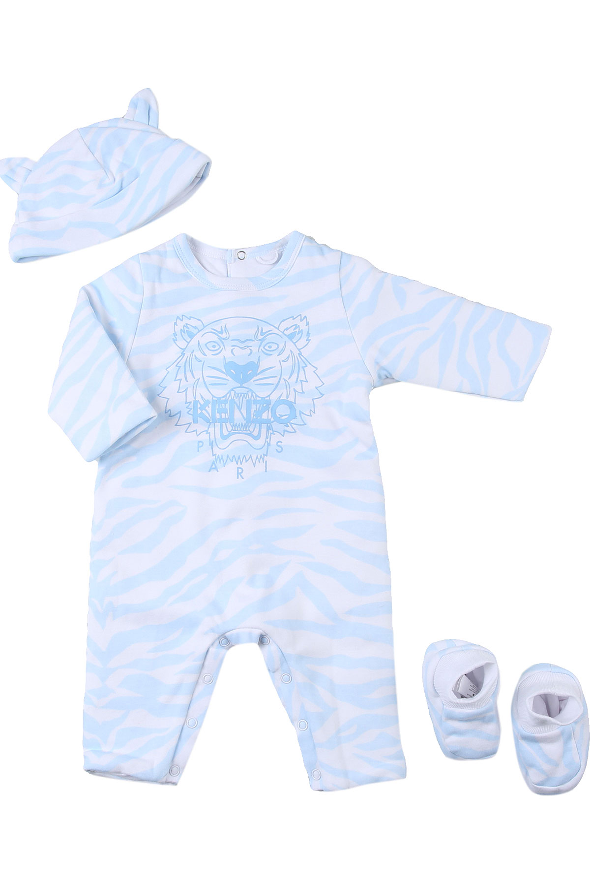 Kenzo Baby Sets for Boys On Sale, Sky, Cotton, 2019, 1M 3M