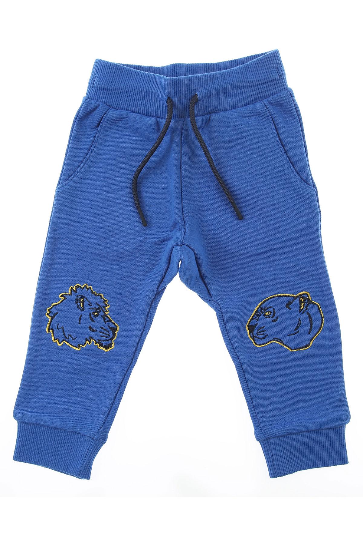 Kenzo Baby Sweatpants for Boys On Sale, Blue, Cotton, 2019, 12 M 2Y 3Y 6M 9 M