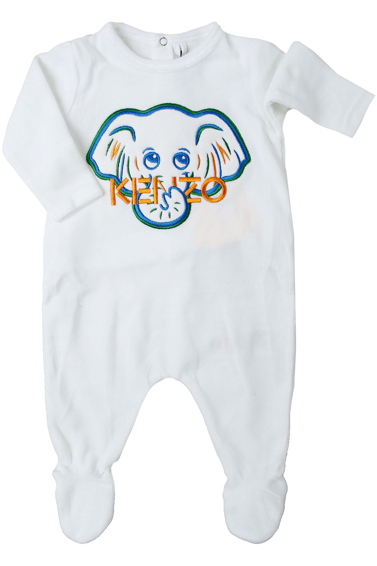 Kenzo Baby Bodysuits & Onesies for Boys On Sale, White, Cotton, 2019, 1M 3M 3Y
