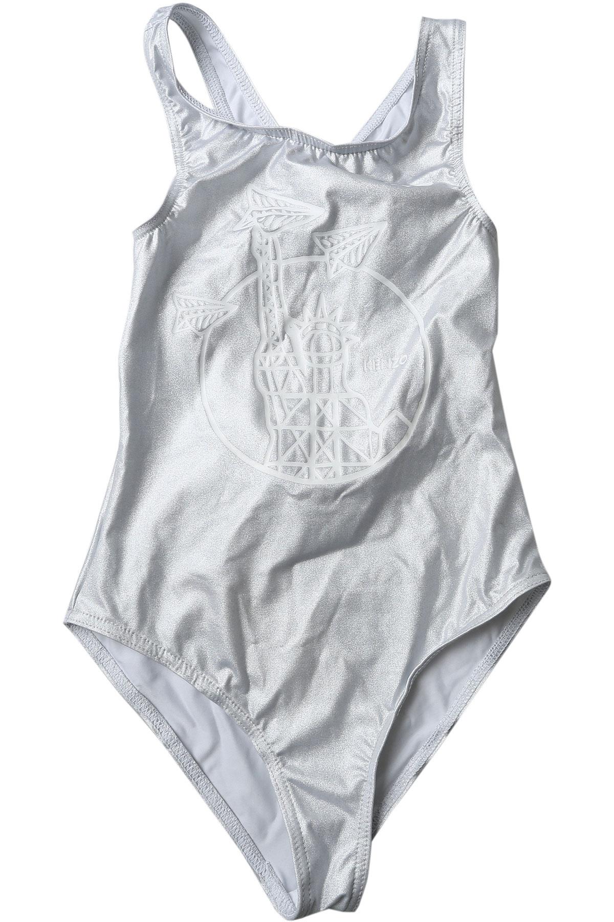 Image of Kenzo Swimwear On Sale, Silver, polyamide, 2017, 10Y 14Y 16Y