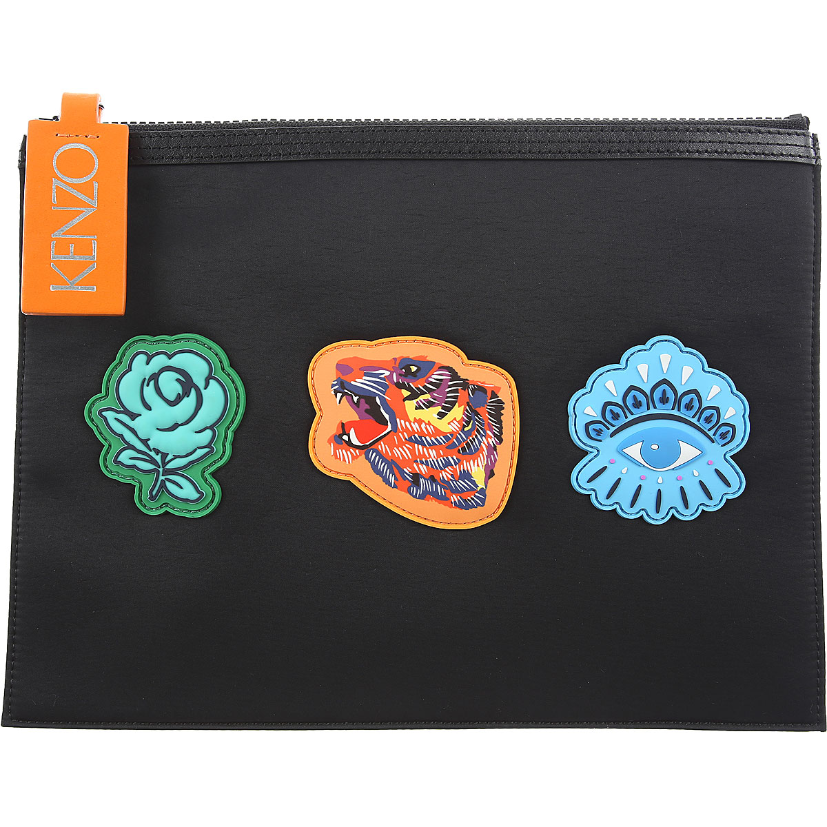 Image of Kenzo Suits, Ipad Case, Black, Neoprene, 2017