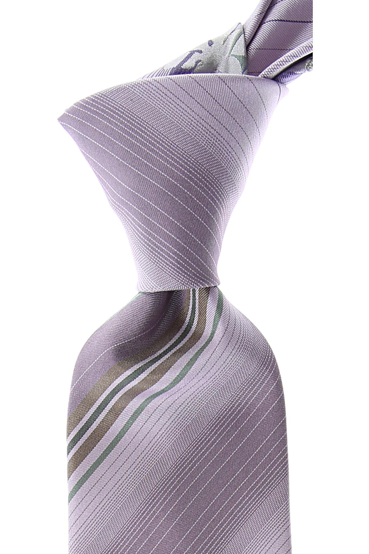 Kenzo Cravates Pas cher en Soldes, Mauve, Soie, 2019