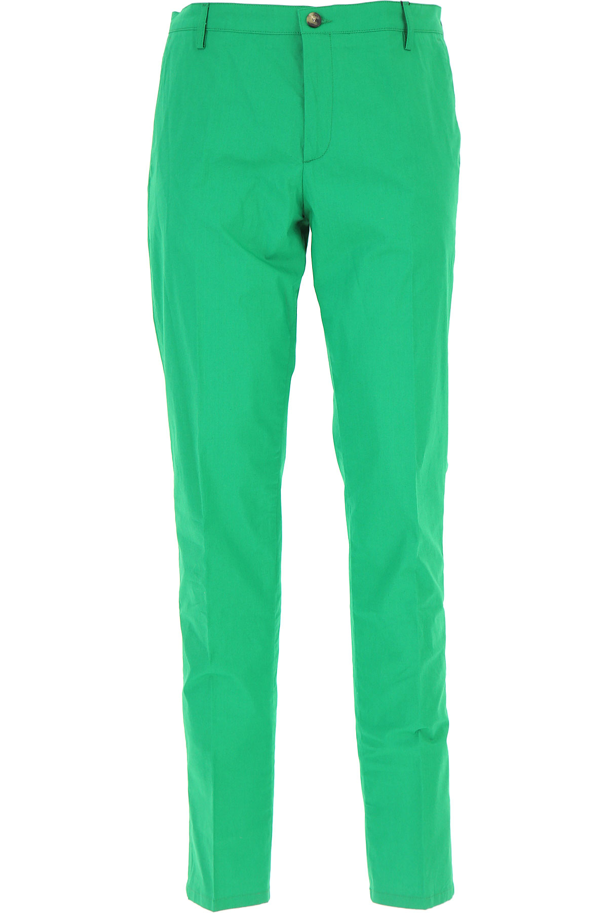 Kenzo Pants for Men On Sale, Green, Cotton, 2017, 30 34 36