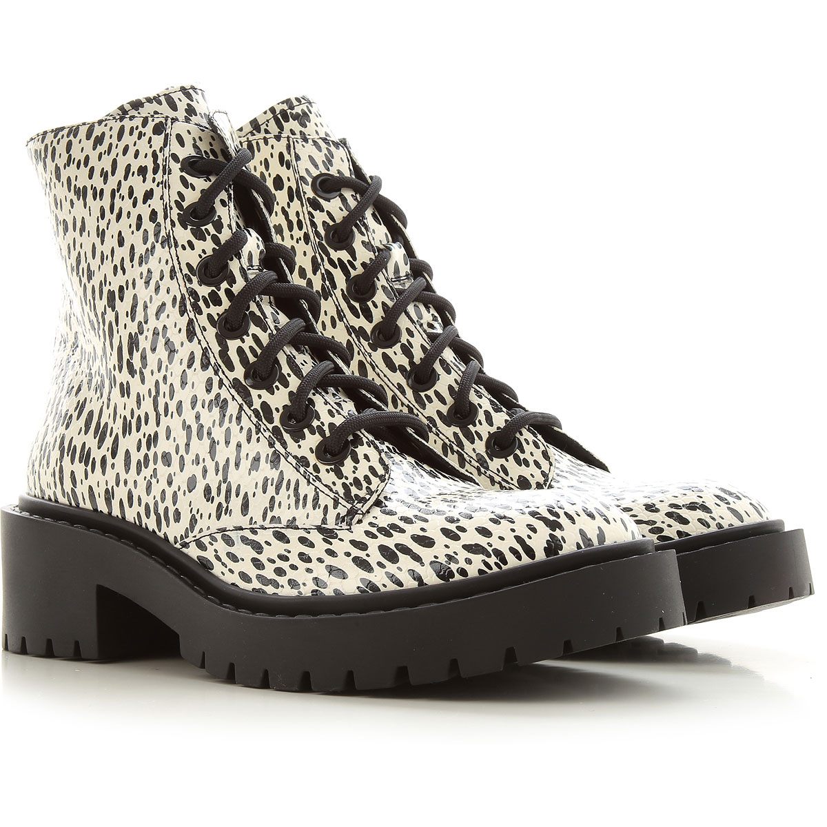 Kenzo Boots for Women, Booties On Sale, Ecru, Leather, 2019, 10 6 7 8 9