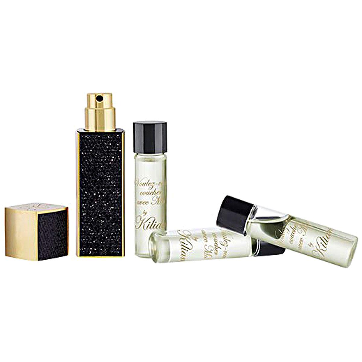 Kilian Fragrances for Men, Voulez-vous Coucher Avec Moi - Travel Set - 4 X 7.5 Ml, 2019, 30 ml