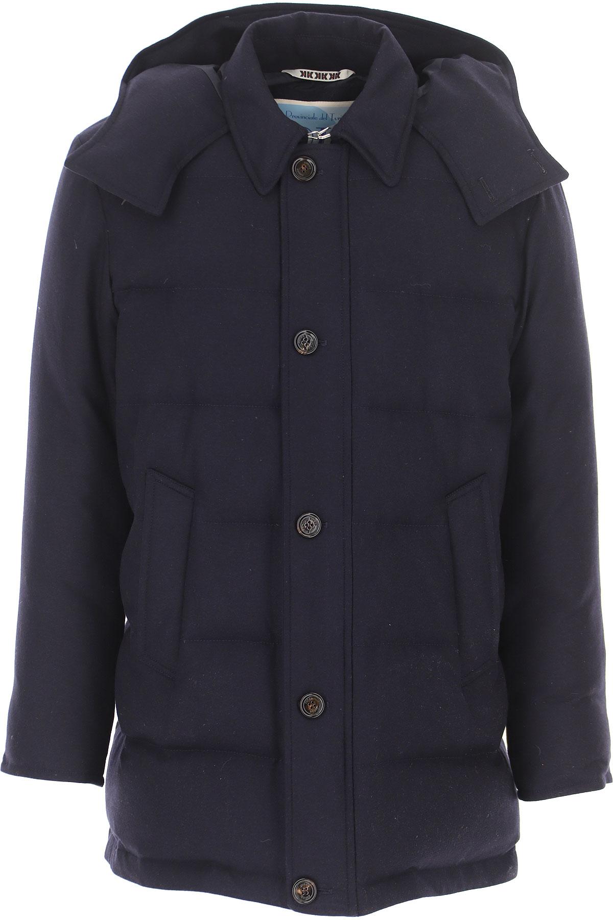 Kired Down Jacket for Men, Puffer Ski Jacket On Sale, navy, Wool, 2019, L M S XL XXL