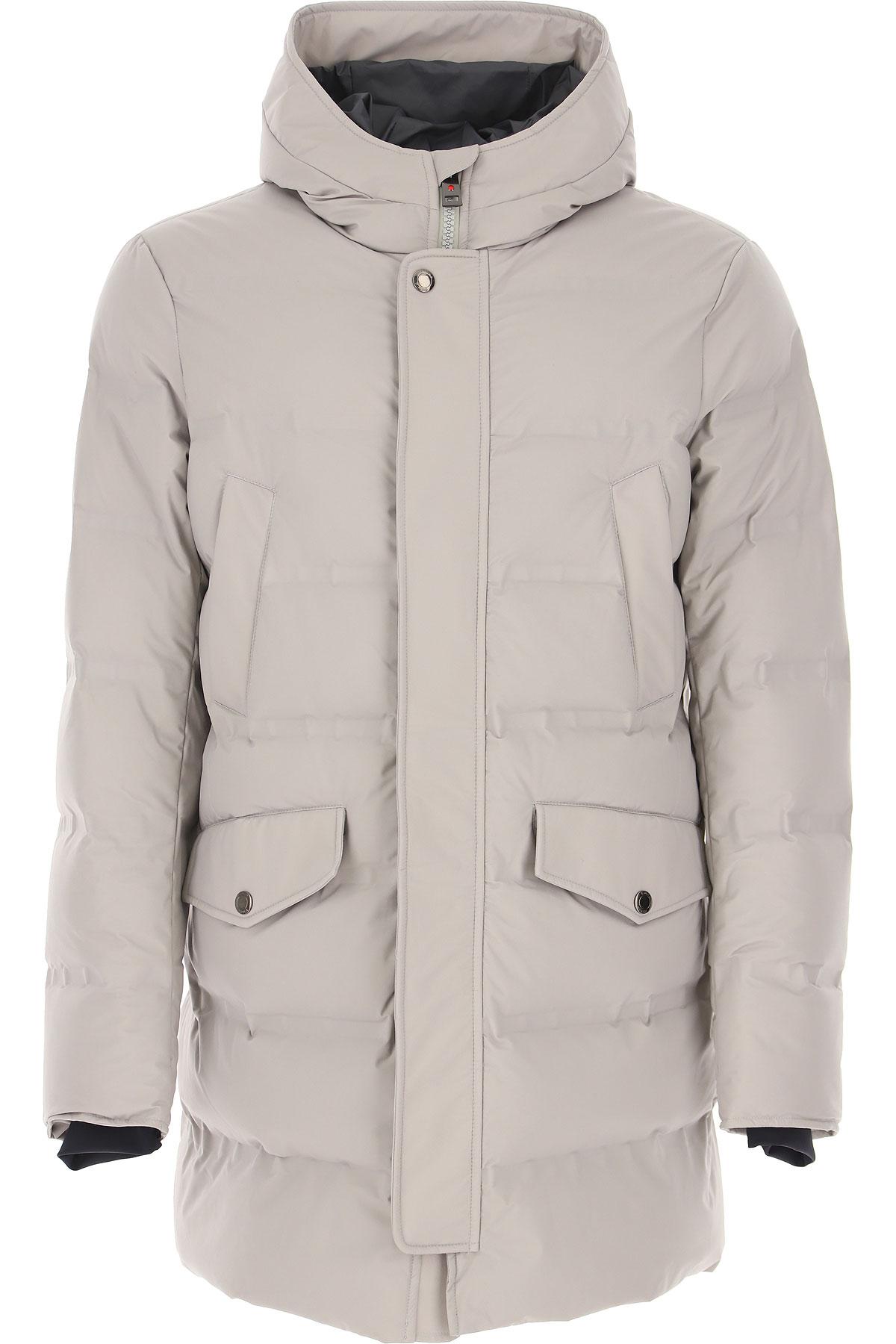 Kired Down Jacket for Men, Puffer Ski Jacket On Sale, Grey, polyamide, 2019, L M