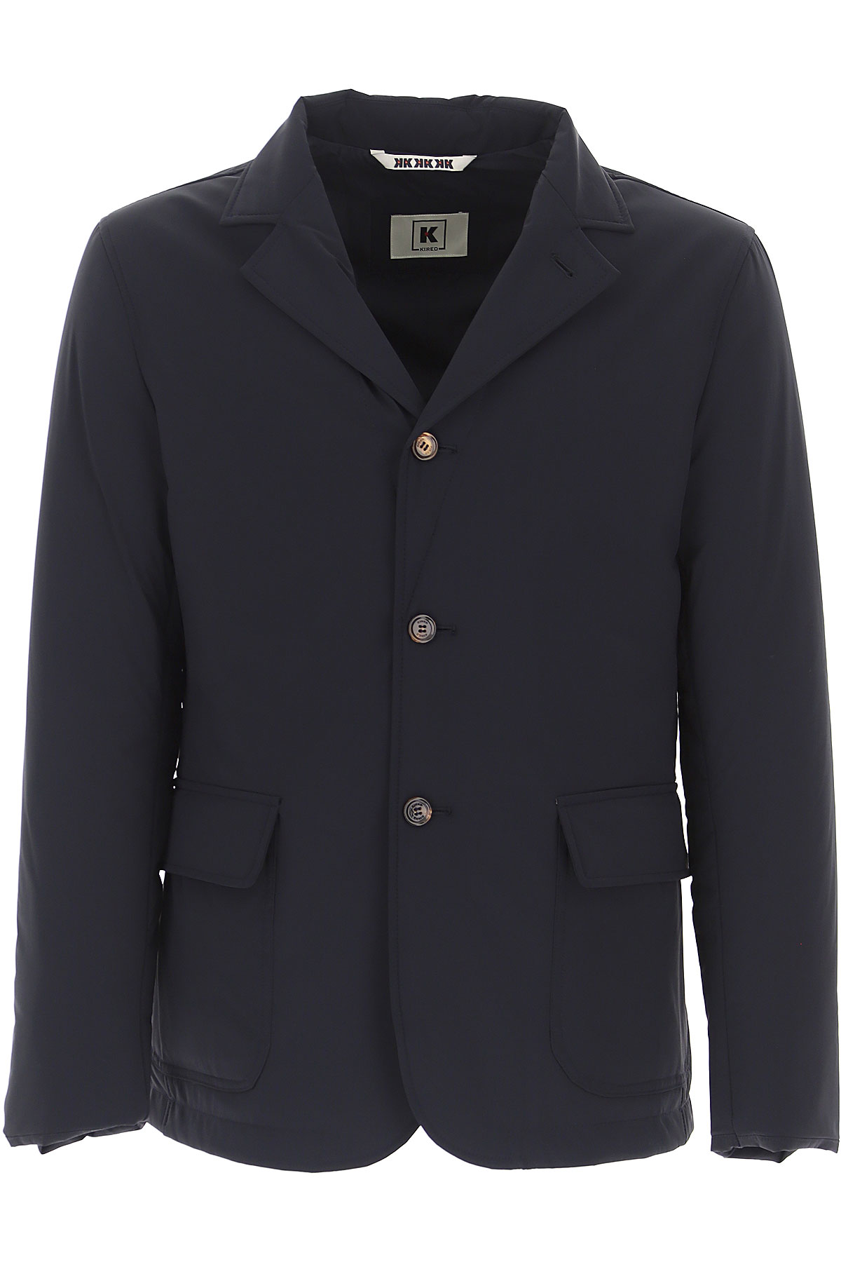 Kired Down Jacket for Men, Puffer Ski Jacket On Sale, navy, polyamide, 2019, L M XL