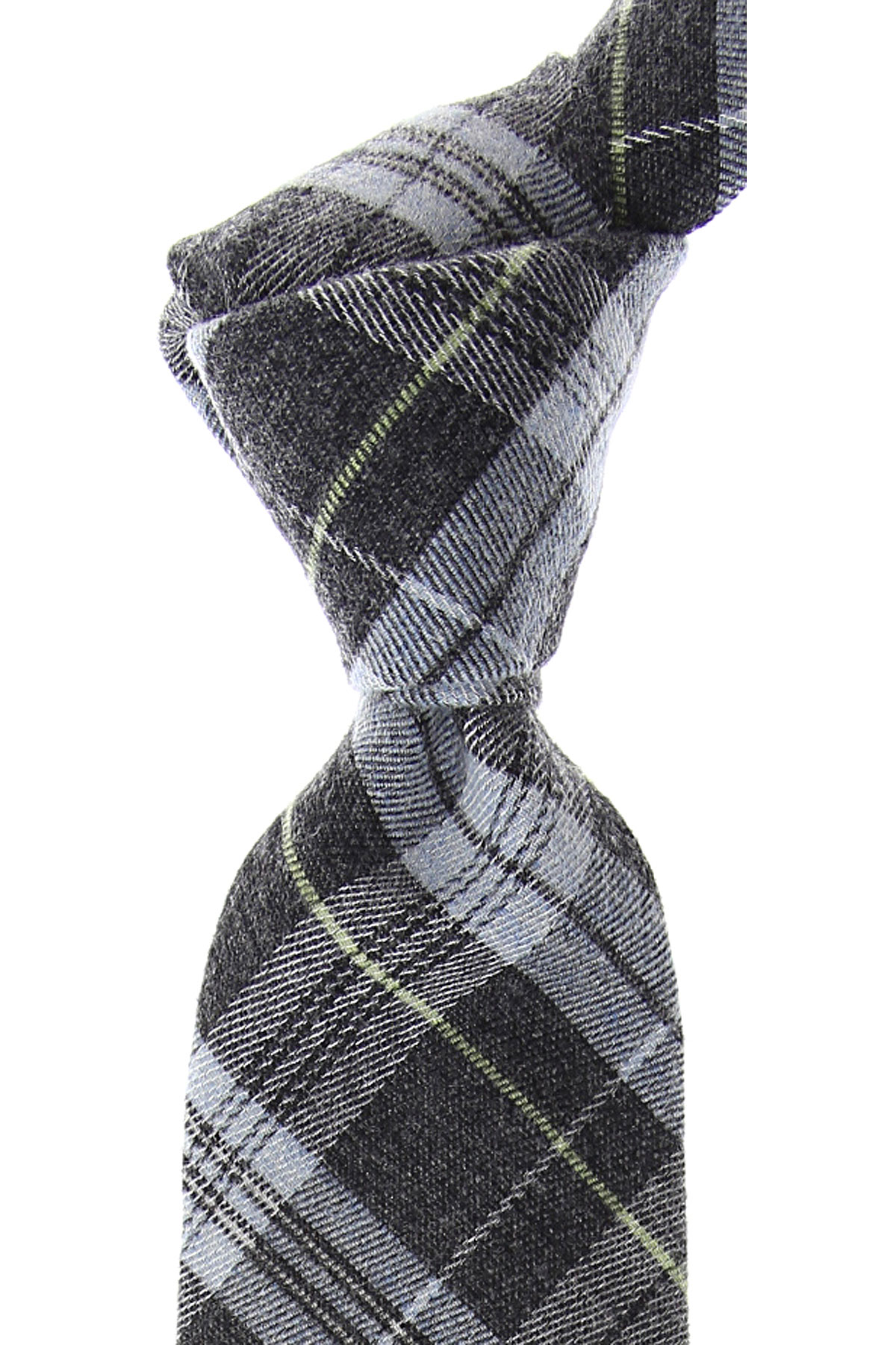 Kiton Ties On Sale, Azure, Cashmere, 2019
