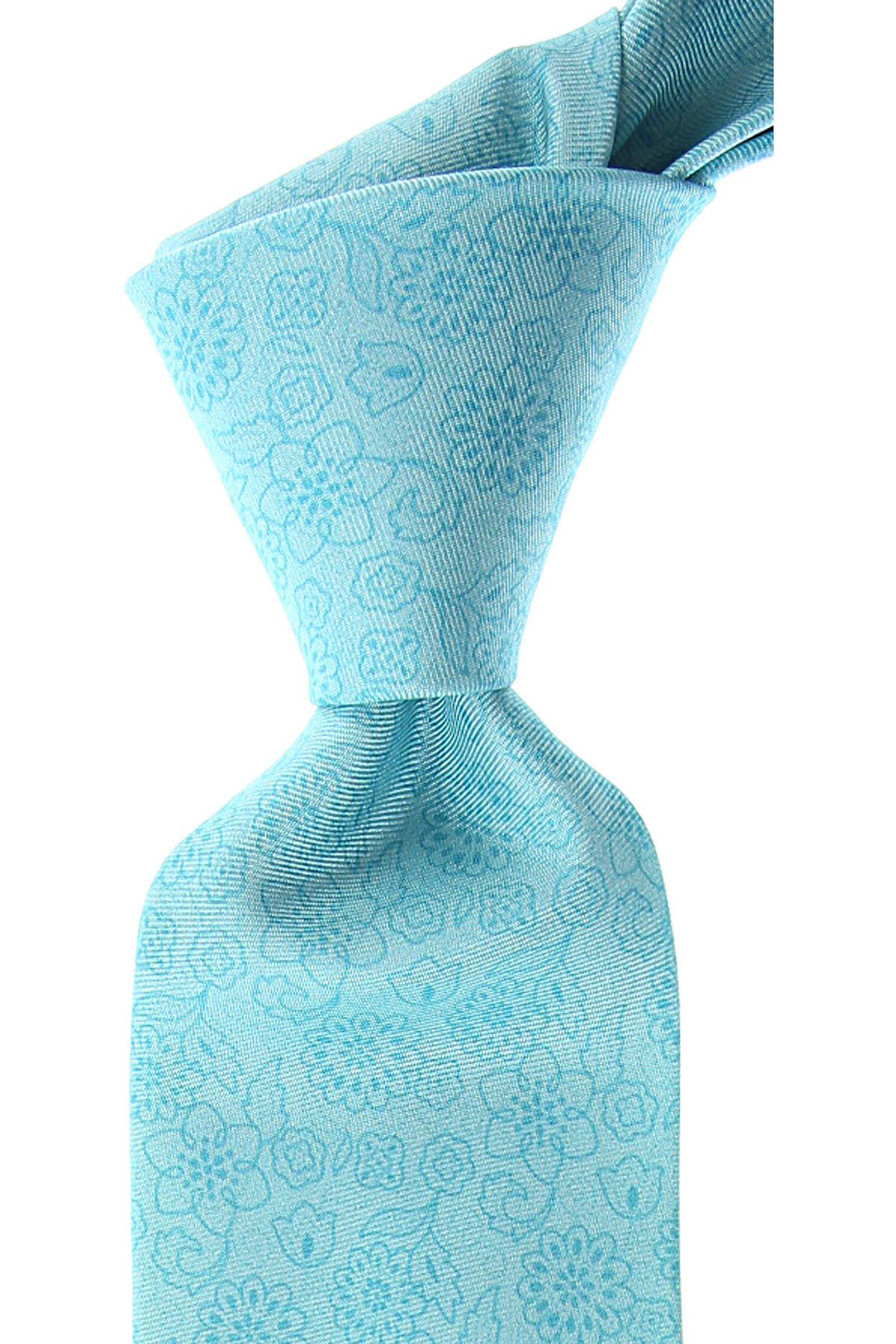 Kiton Ties On Sale, aquamarine, Silk, 2019