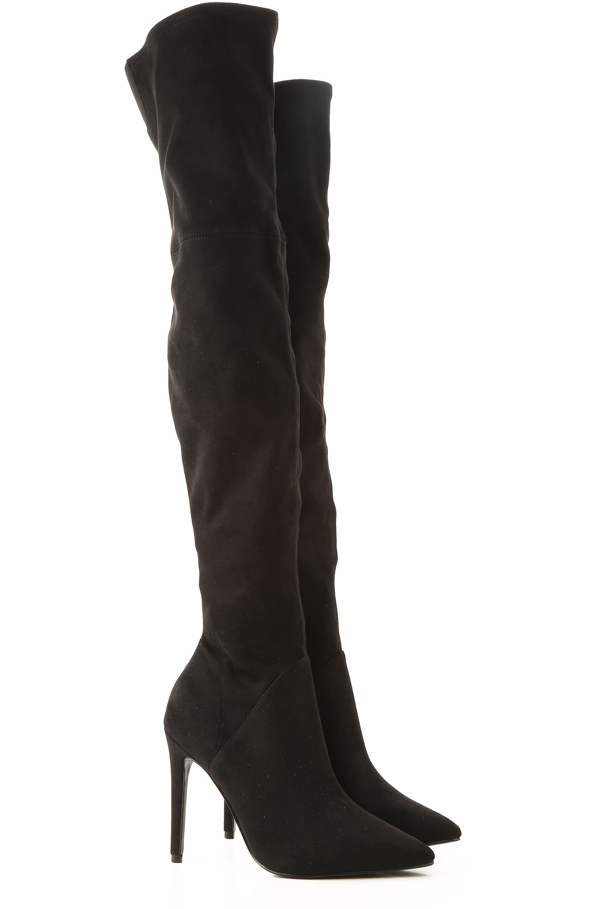 Kendall Kylie Boots for Women, Booties On Sale, Black, Suede leather, 2019, 5.5 6.5 7
