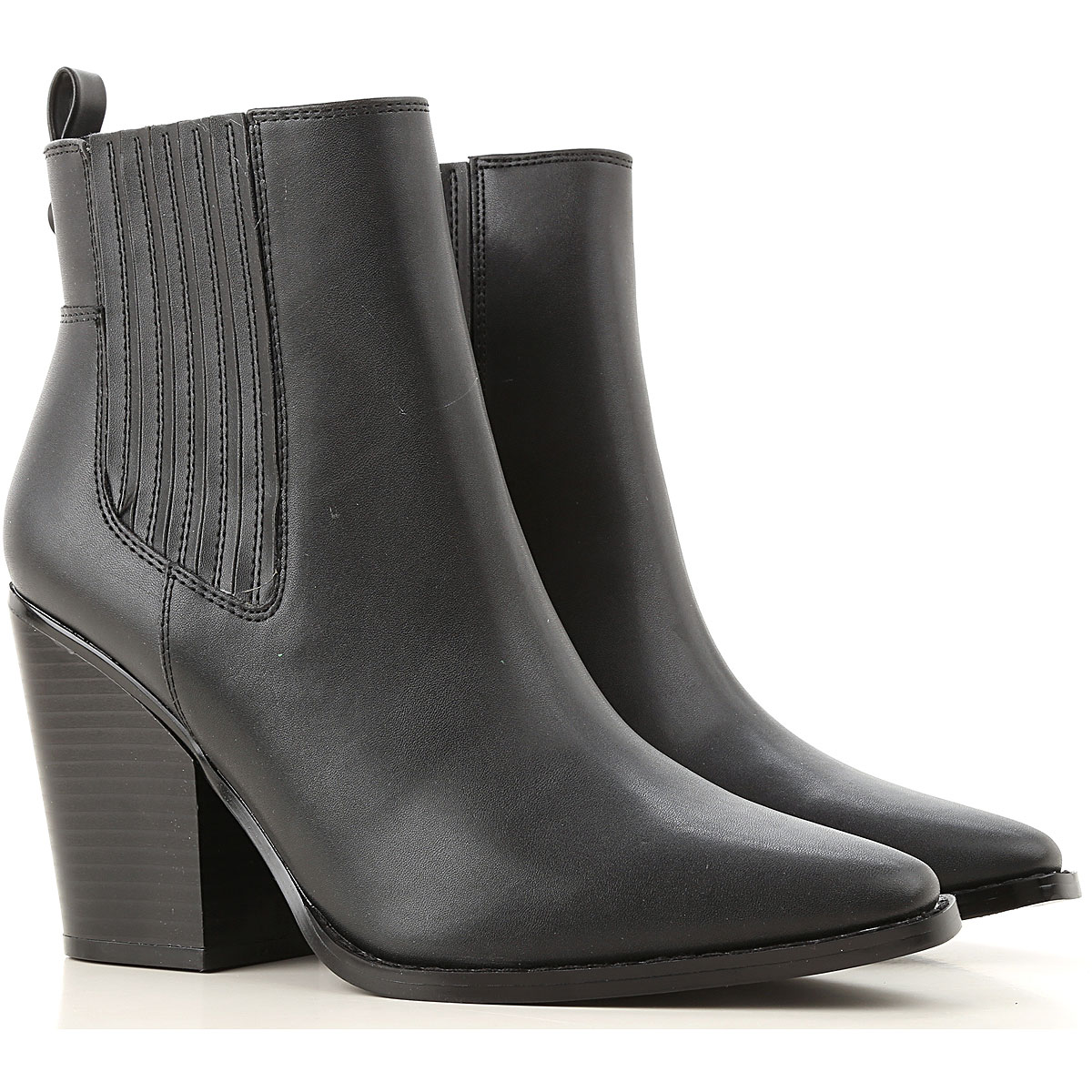 Kendall Kylie Chelsea Boots for Women On Sale, Black, Eco Leather, 2019, 11 9
