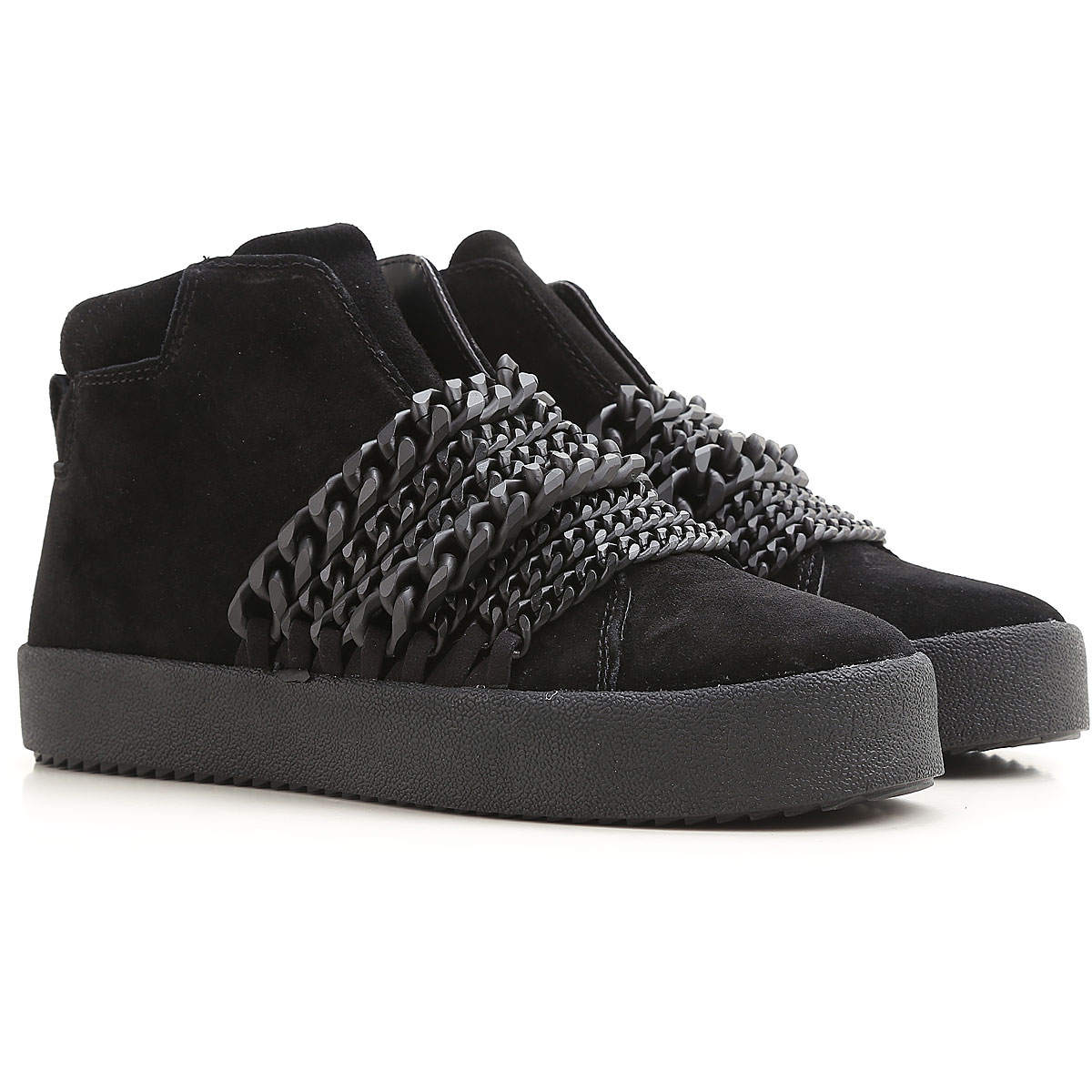 Kendall Kylie Slip on Sneakers for Women On Sale in Outlet, Black, Suede leather, 2019, 6 6.5 8.5