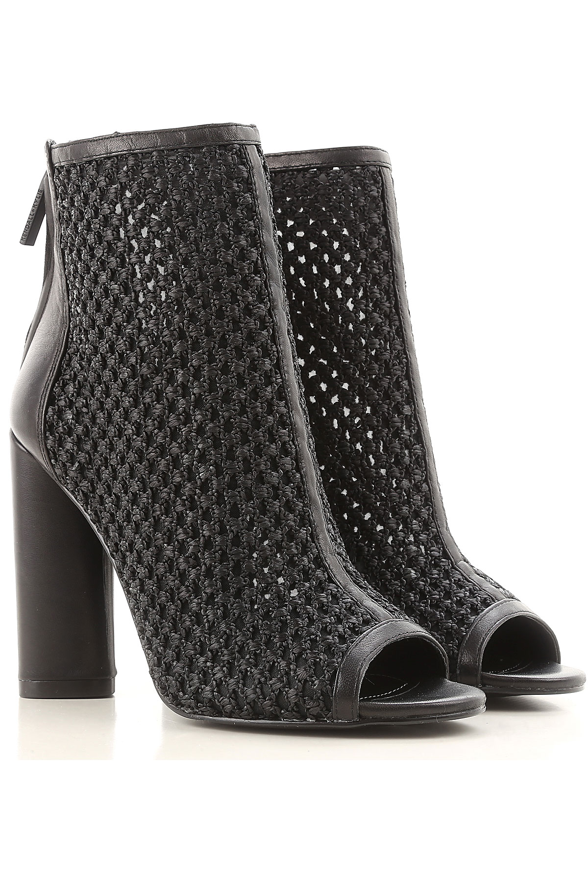 Image of Kendall Kylie Boots for Women, Booties On Sale, Black, Leather, 2017, 7 9.5