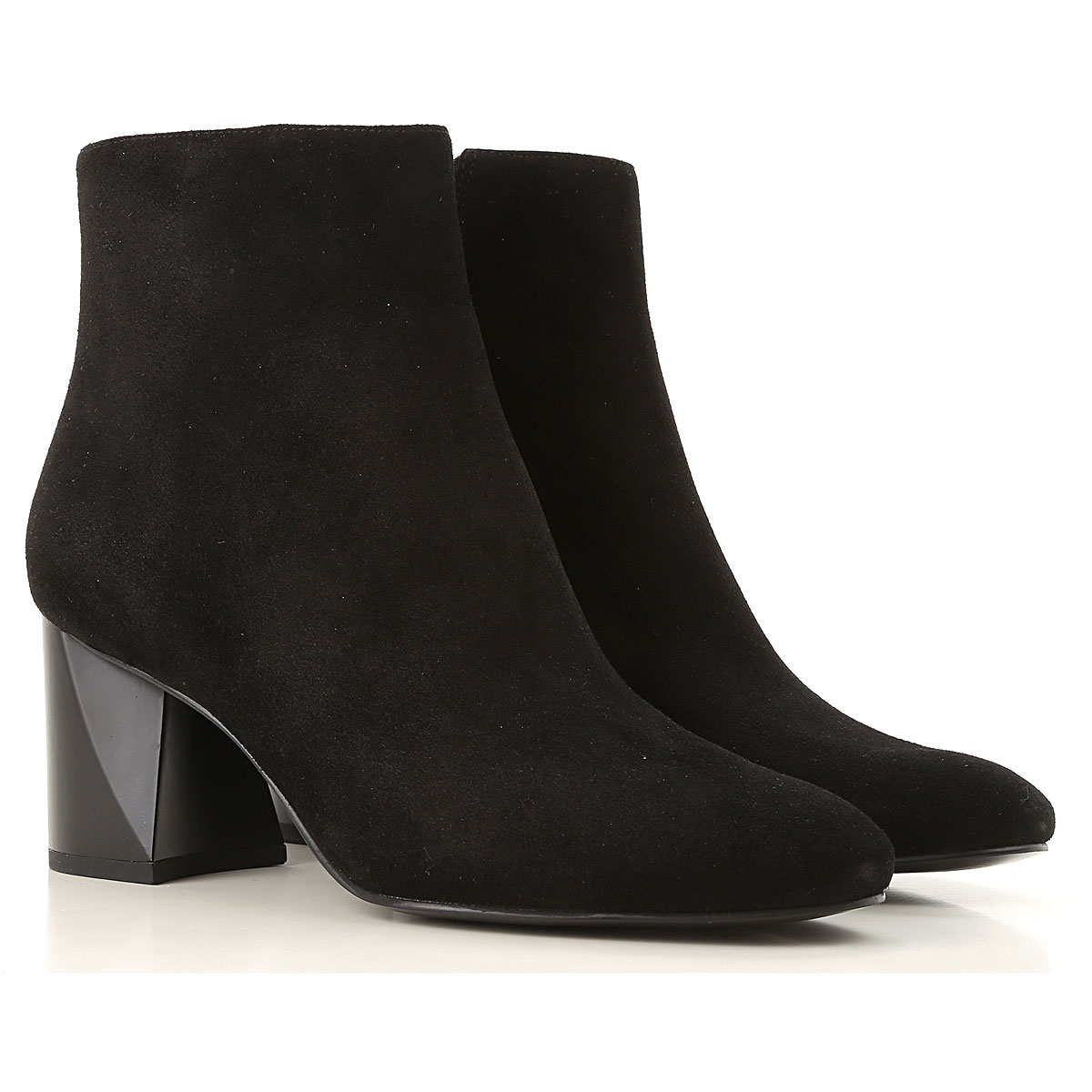 Kendall Kylie Boots for Women, Booties On Sale in Outlet, Black, Suede leather, 2019, 6