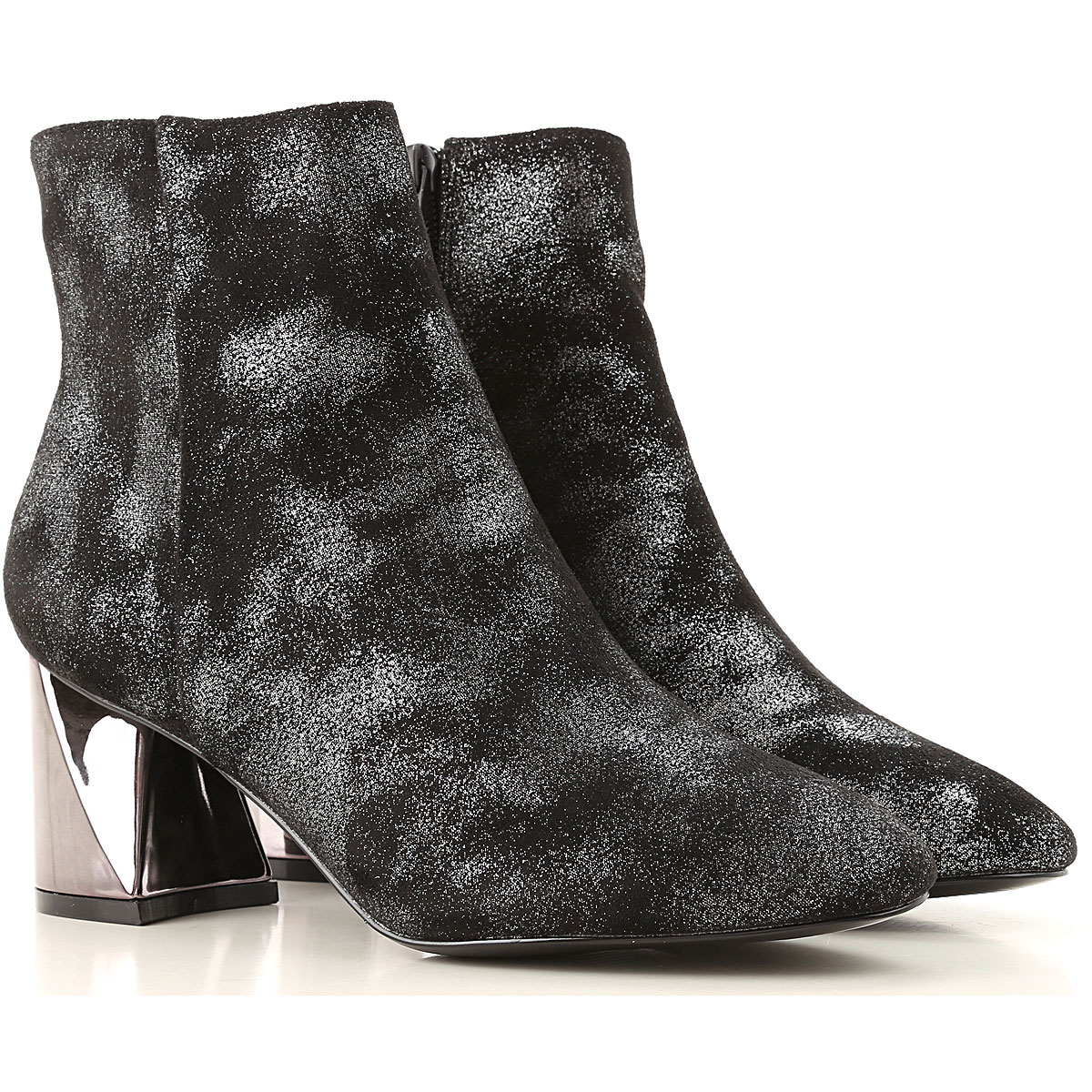 Kendall Kylie Boots for Women, Booties On Sale, Black, Suede leather, 2019, 6 6.5 7 8 8.5