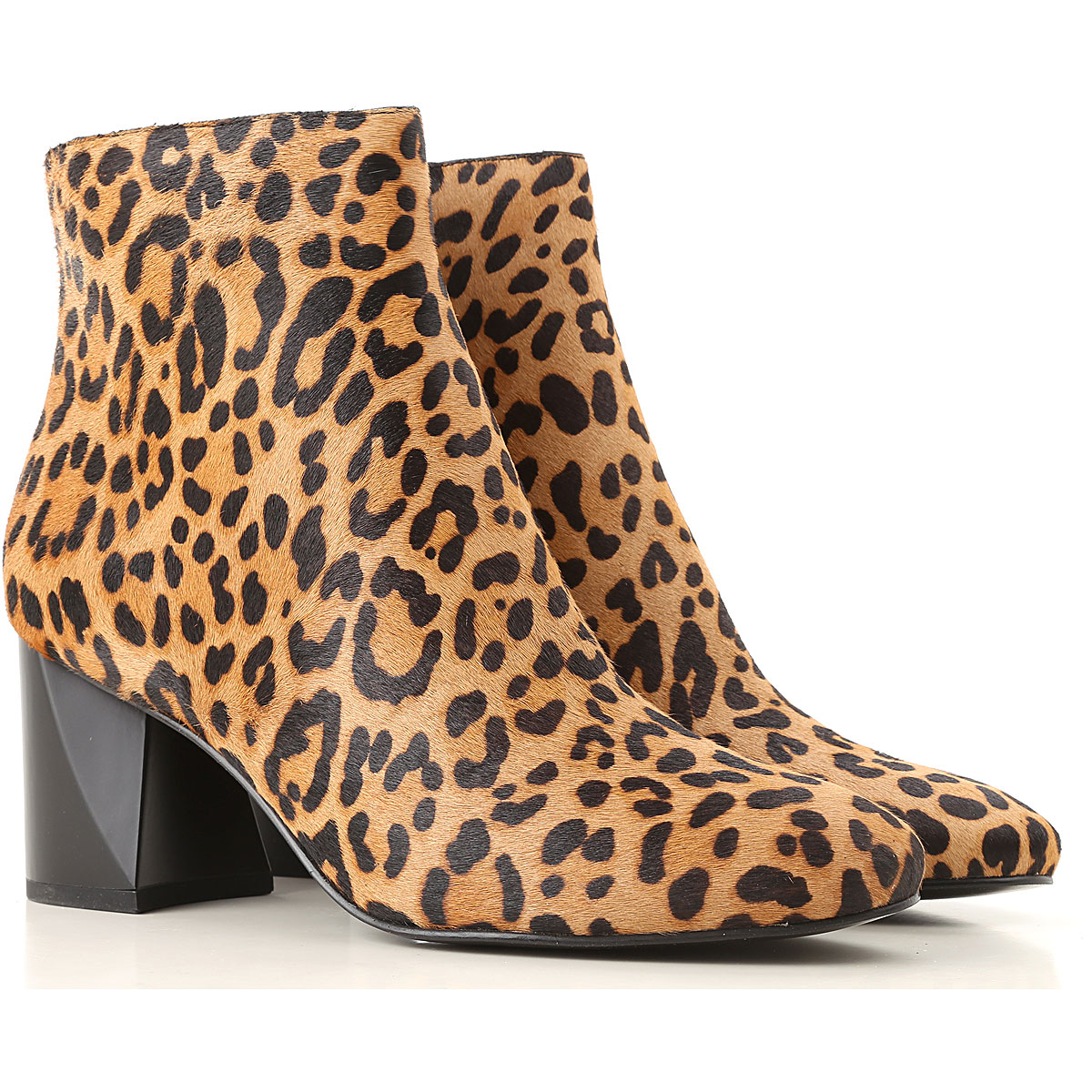 Kendall Kylie Boots for Women, Booties, Tan, Fur, 2019, 8.5 9