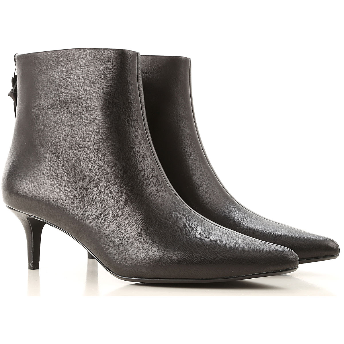 Kendall Kylie Boots for Women, Booties, Black, Leather, 2019, 6 9