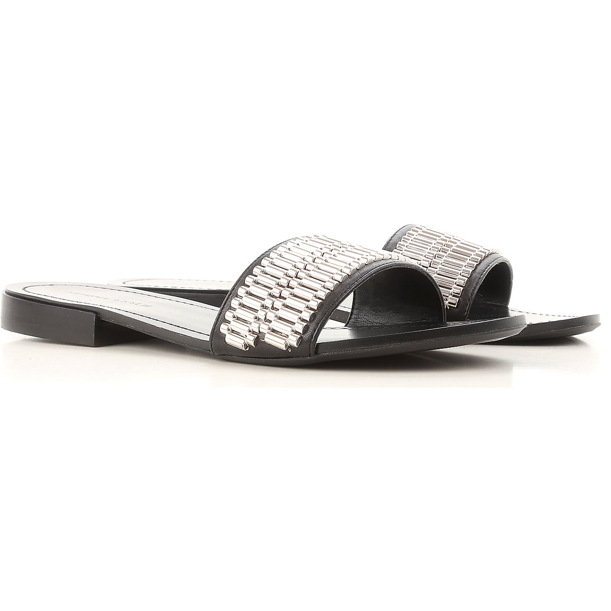 Kendall Kylie Sandals for Women On Sale in Outlet, Black, Nappa, 2019, 5.5 6.5 7
