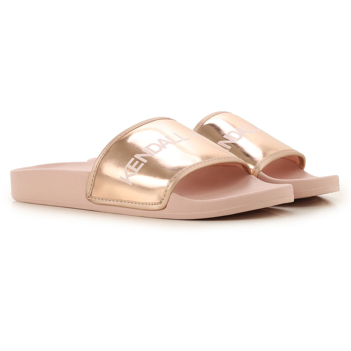 Kendall Kylie Sandals for Women On Sale in Outlet, Pink, Leather, 2019, 5 6