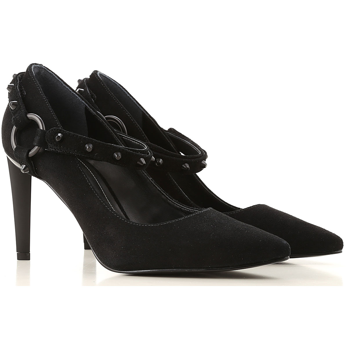 Kendall Kylie Pumps & High Heels for Women On Sale in Outlet, Black, Leather, 2019, 5.5 8