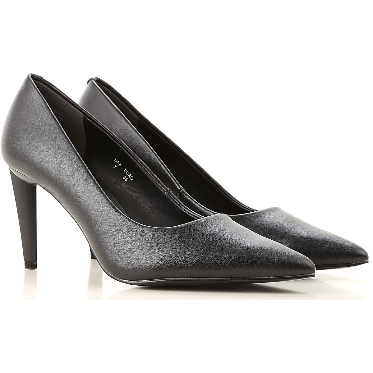 Kendall Kylie Pumps & High Heels for Women, Black, Eco Leather, 2019, 6 7 8