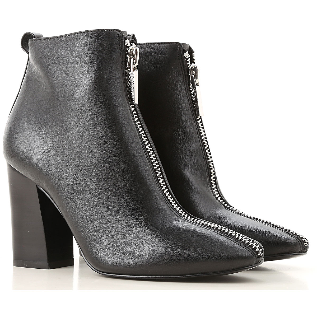 Image of Kendall Kylie Boots for Women, Booties, Black, Leather, 2017, 10 6 6.5 7 8 9 9.5