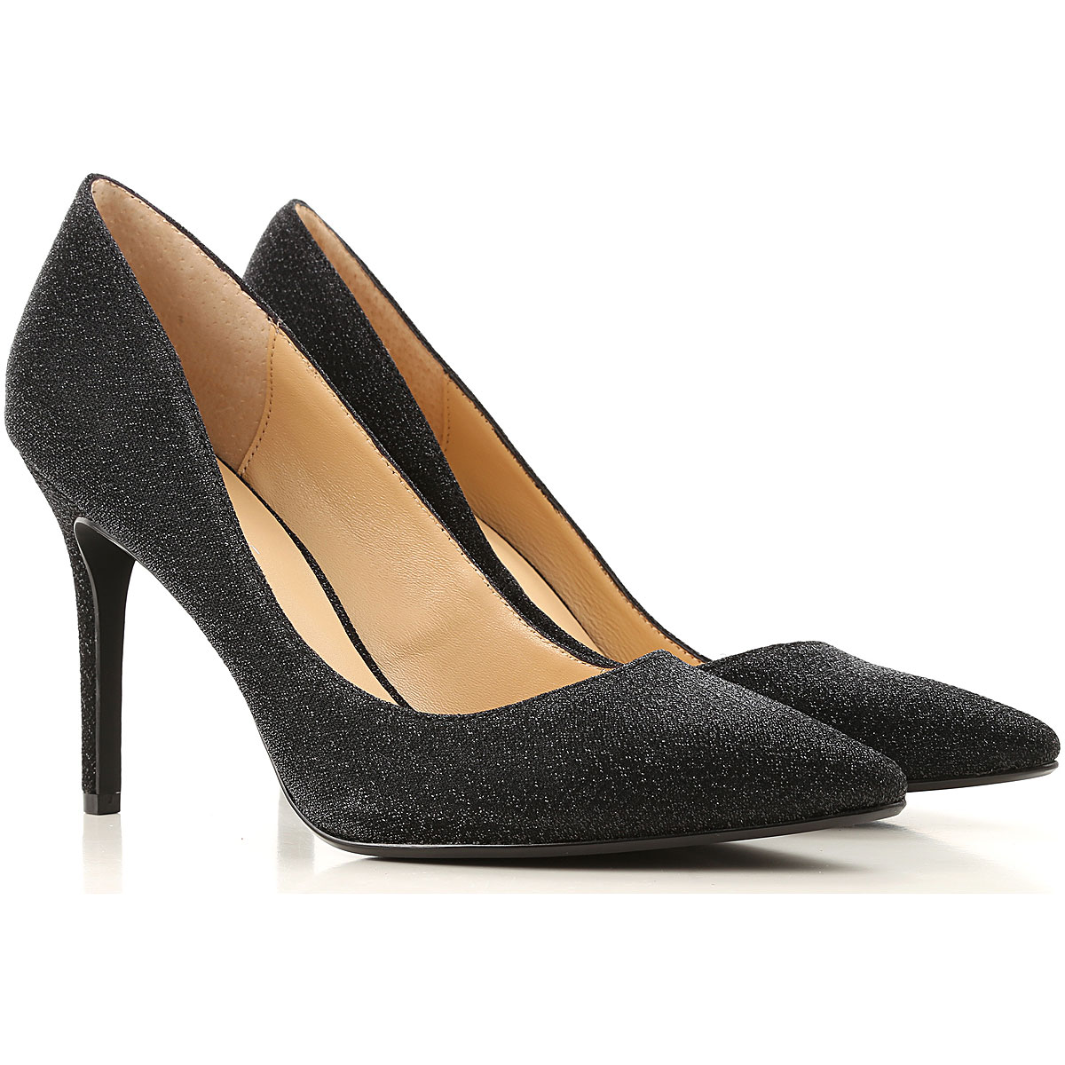 Kendall Kylie Pumps & High Heels for Women, Black, lurex, 2019, 6.5 8 8.5